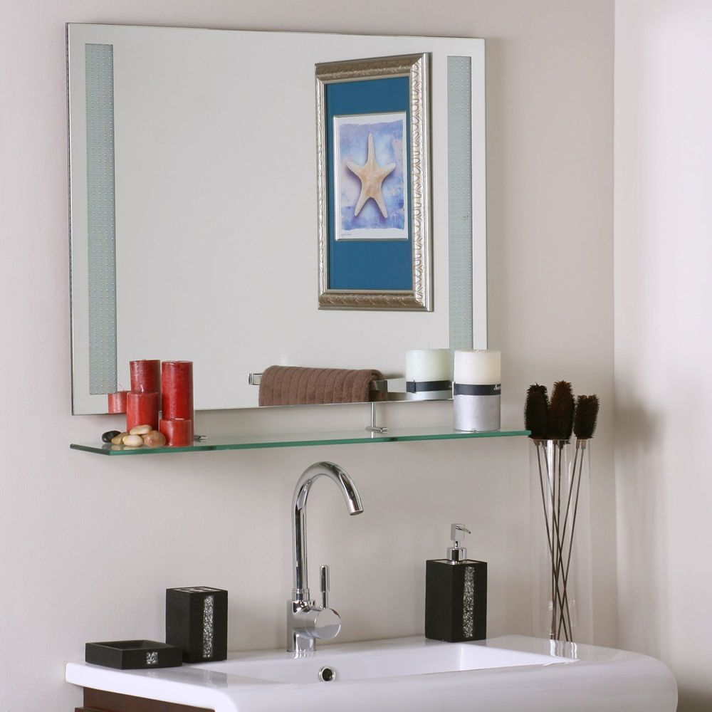 Instructions For Glue Frameless Bathroom Mirrors – Frameless mirrors ...