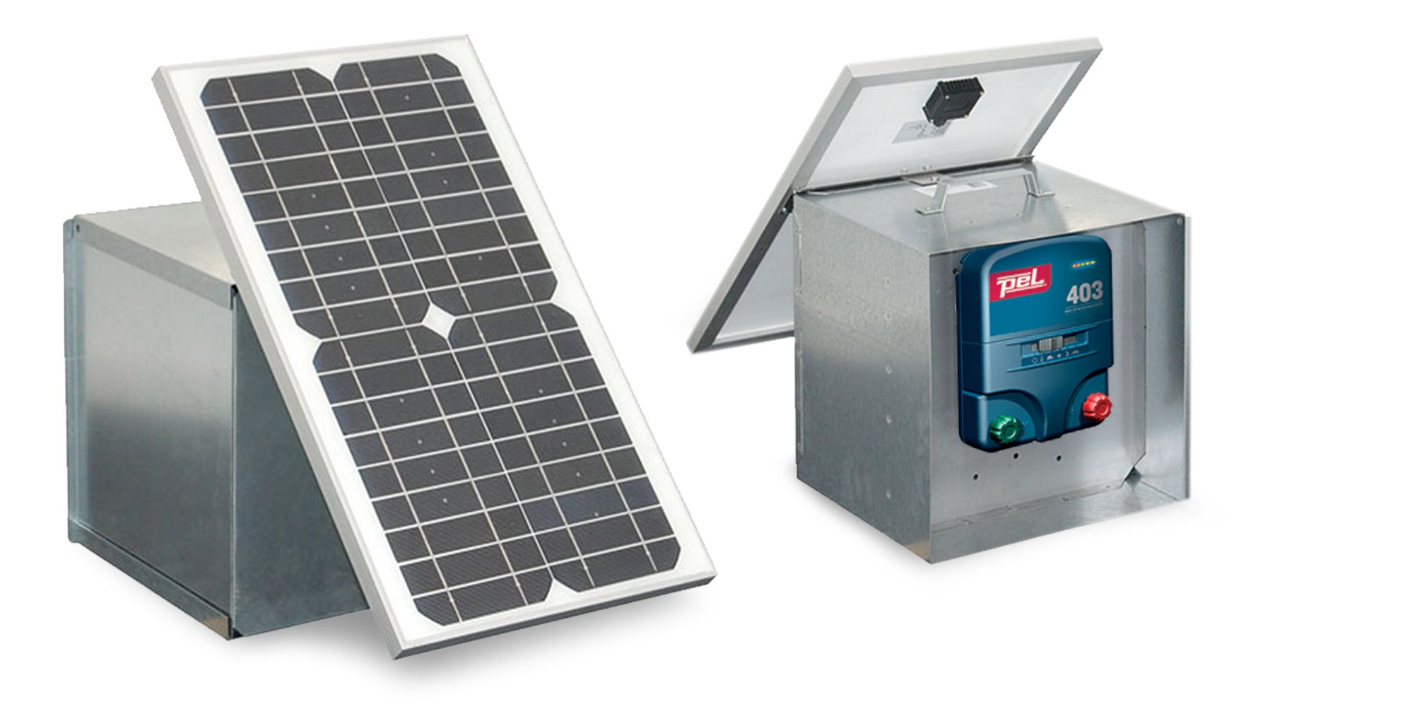 PEL 403 Solar Electric Fence Kit, from Ritchey