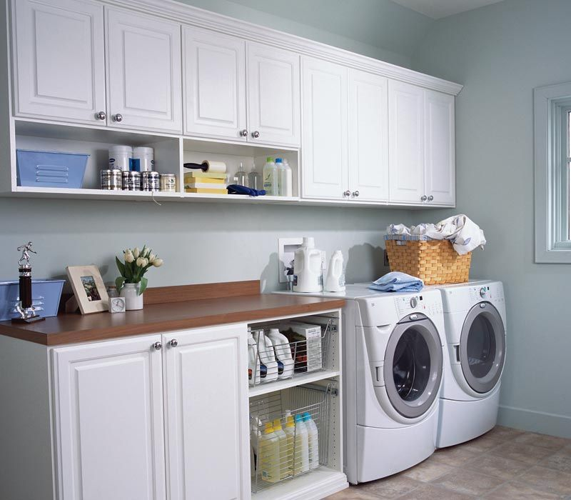 Laundry Room... With Big Table For Folding. A Laundry