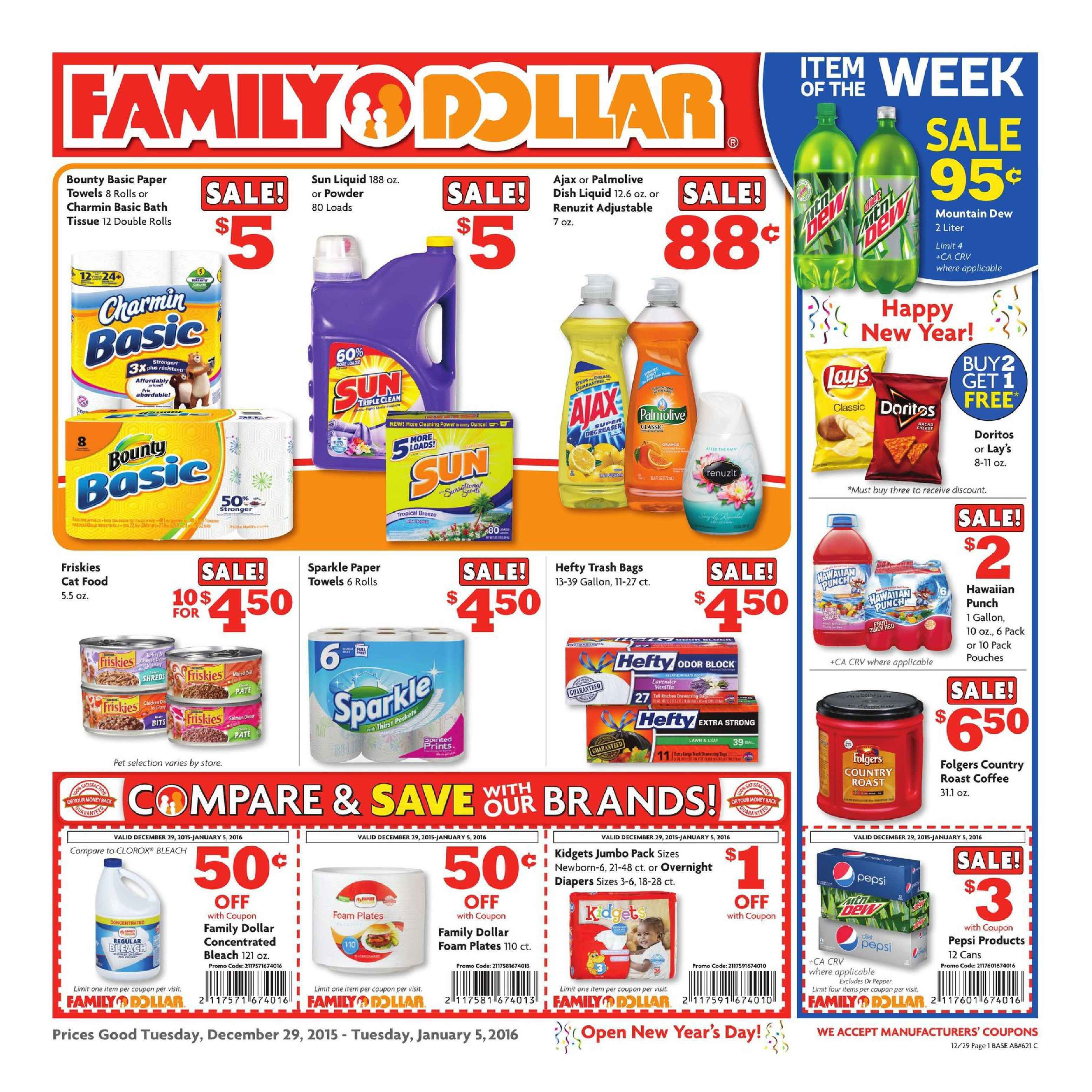 Family Dollar Weekly Ad December 15 20 2015 Weekly Ads And Circulars December 2015 Us Retailers And Groceri Family Dollar Coupons Family Dollar Weekly Ads