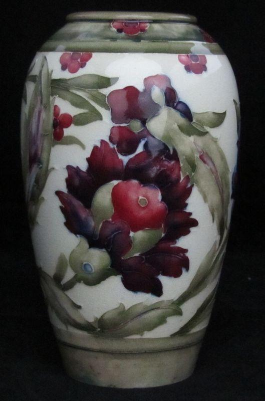 William Moorcroft Vase In Persian Design 7 High Dated Circa 1916