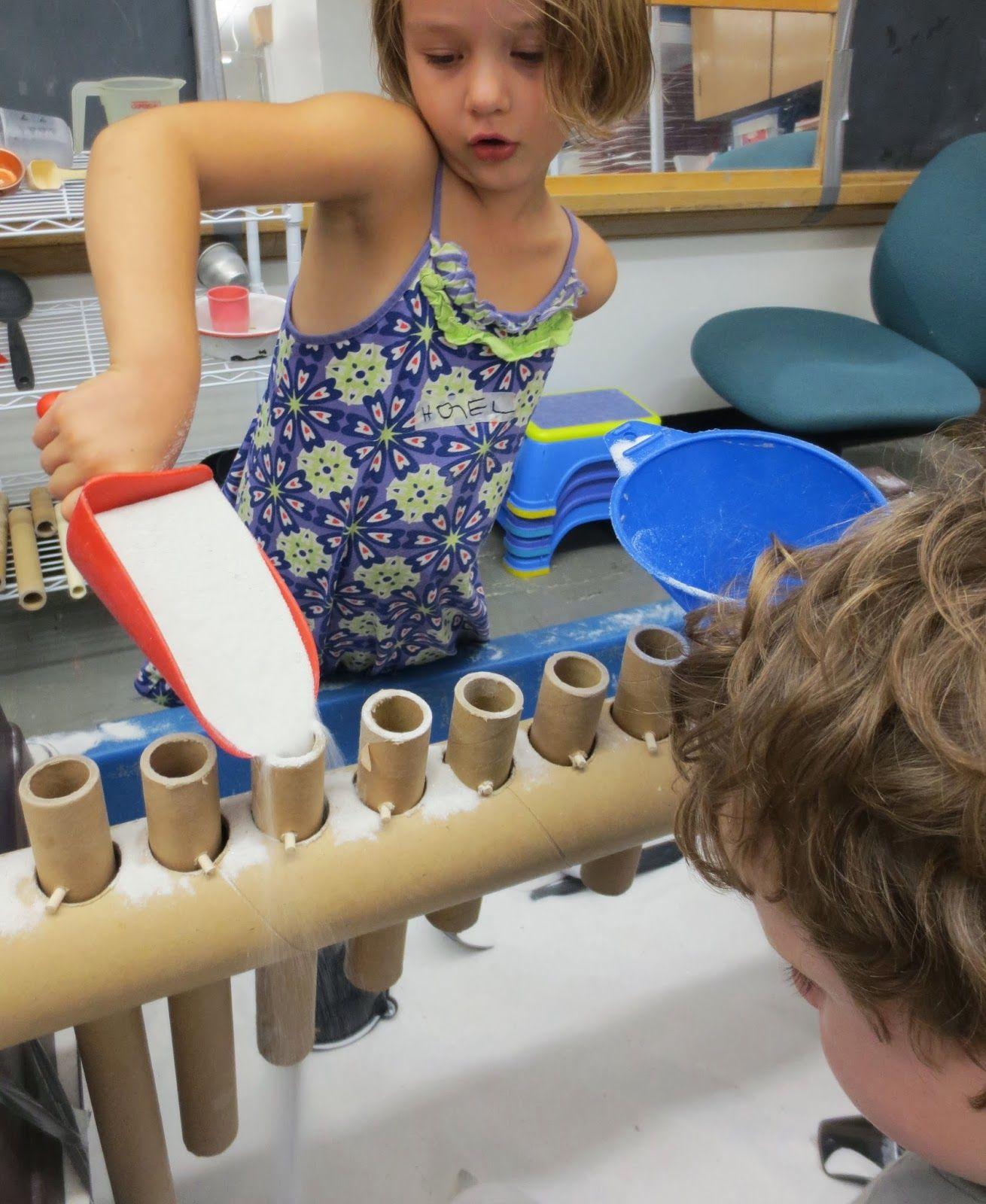 Cardboard Tubes Embedded In A Cardboard Tube