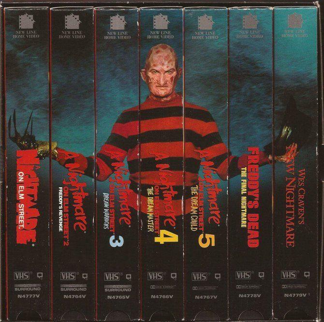 FreddyKrueger-VHS