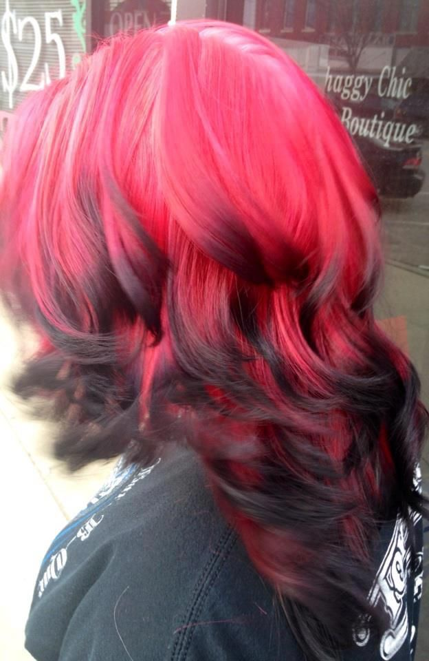 I Want My Hair Like This But Only Pink The Ends Would Be Darker And