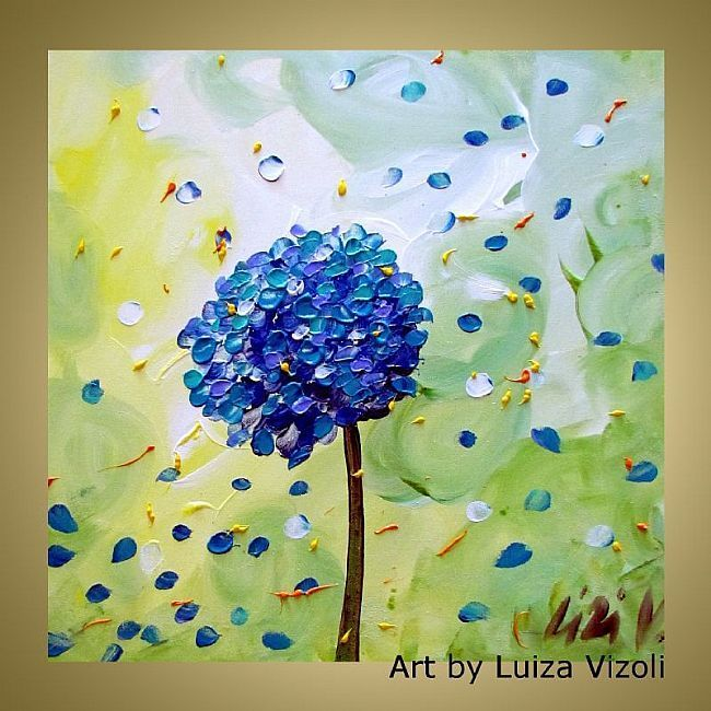 Art spring hydrangea by luiza vizoli from original paintings art spring hydrangea by luiza vizoli from original paintings 2012 pretty artart flowershydrangeaoriginal mightylinksfo