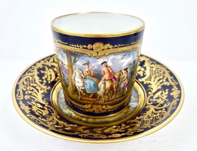 Marks counterfeit porcelain sevres Antique Ceramics