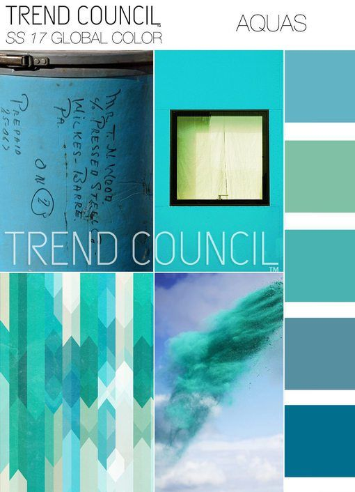 Spring Summer 2017 Color Trends From The Trend Council