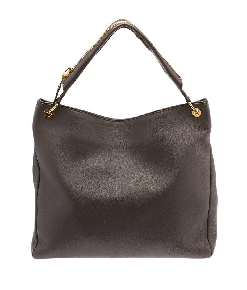 e4a660c1a9 Tom Ford Nina Brown Leather Hobo
