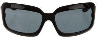 Chanel Rectangular Logo Sunglasses