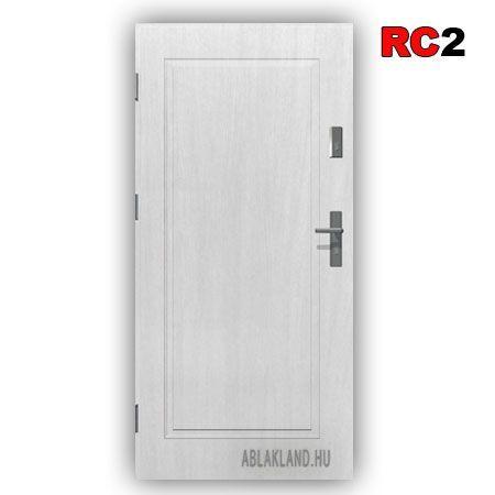 Security Door, RC2 Class, White, Full, Outdoor, SteelSaf … –…
