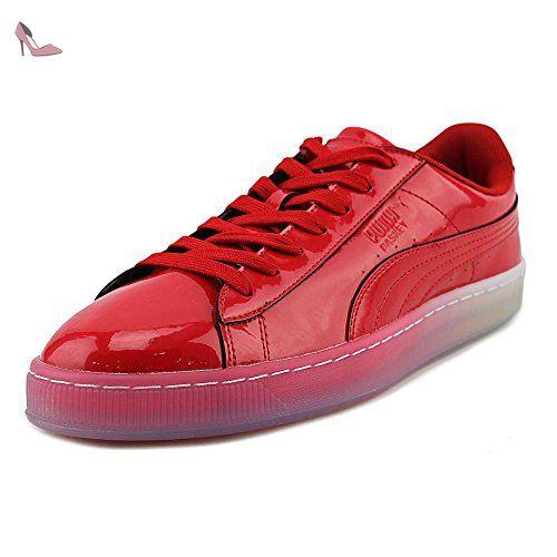basket puma hommes rouge