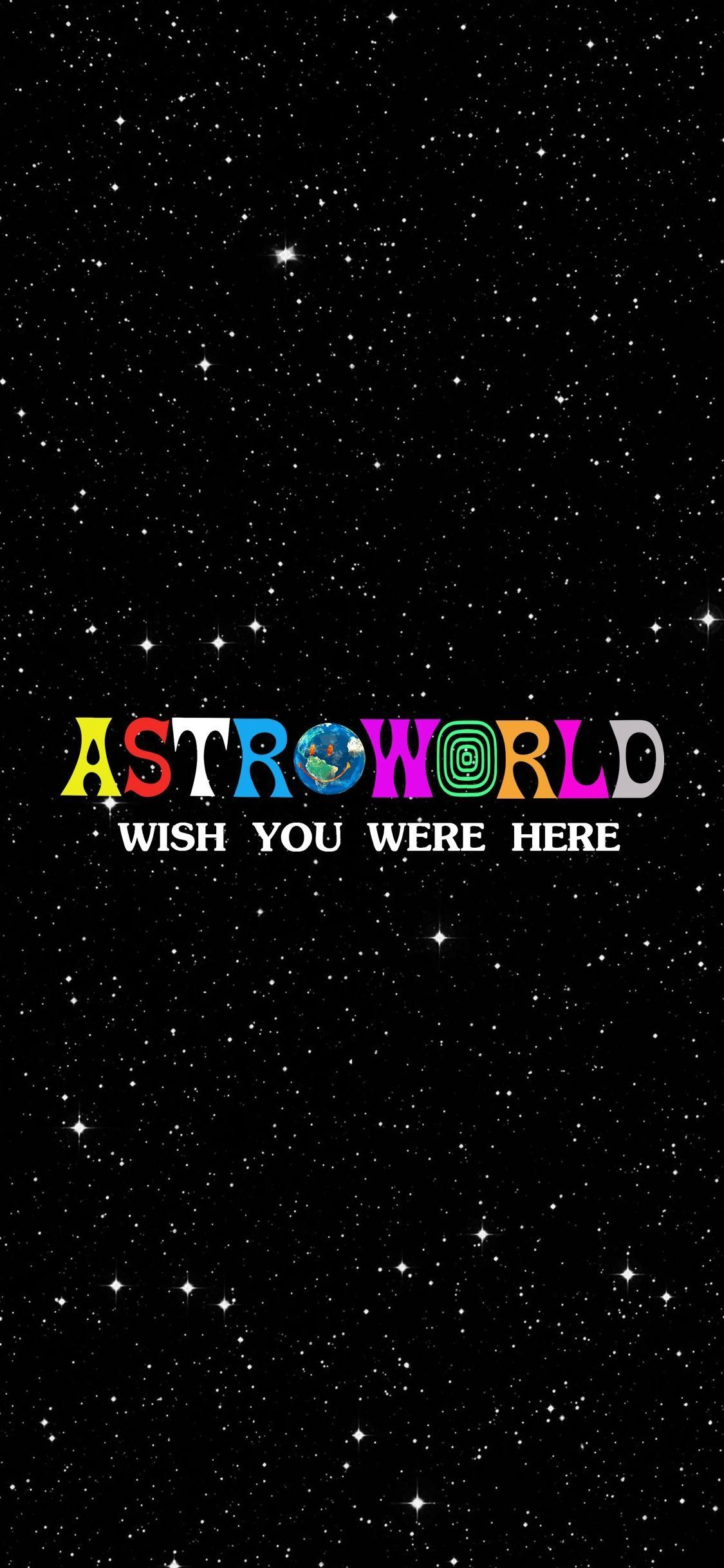 Astroworld Wallpaper Travisscottwallpapers Painting Wallpaper