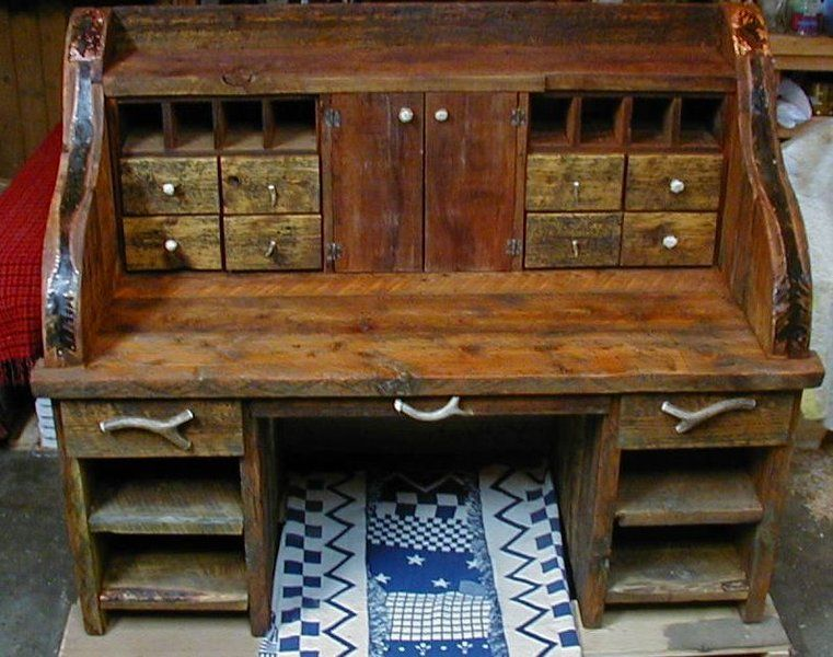 Custom Made Handcrafted rustic barnwood furniture  such as barnwood vanity   barnwood tables  barnwood cabinets  All rustic  old fashioned furniture  pieces. This is cool  Built from old Barnwood  custom made http   www