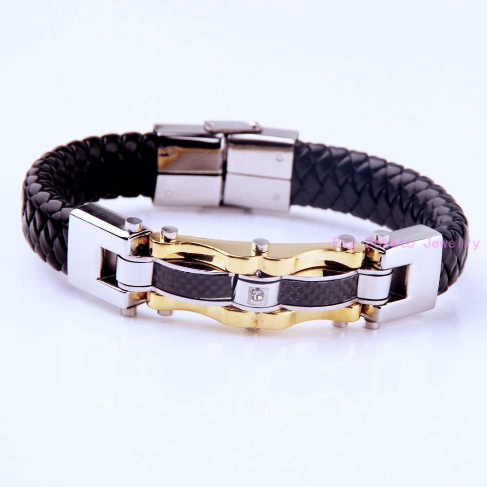 Perfect technology cmmm g vintage black leather silver gold