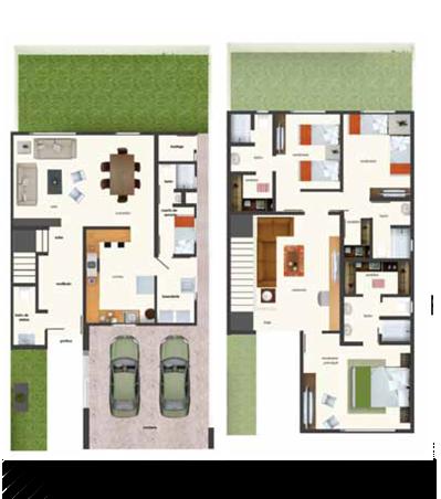 planos de casas residenciales