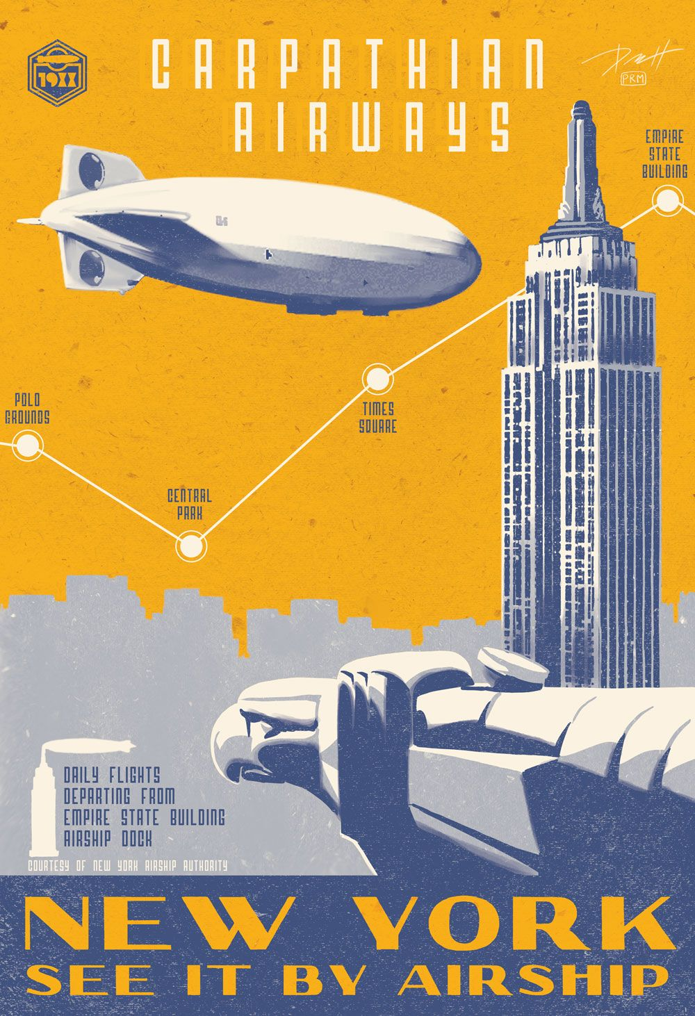 The Golden Age Of Travel Posters by techgnotic on DeviantArt ...