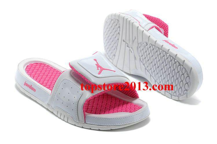 7e7b83a5407d Girls Jordan Hydro 2 Slide White Pink