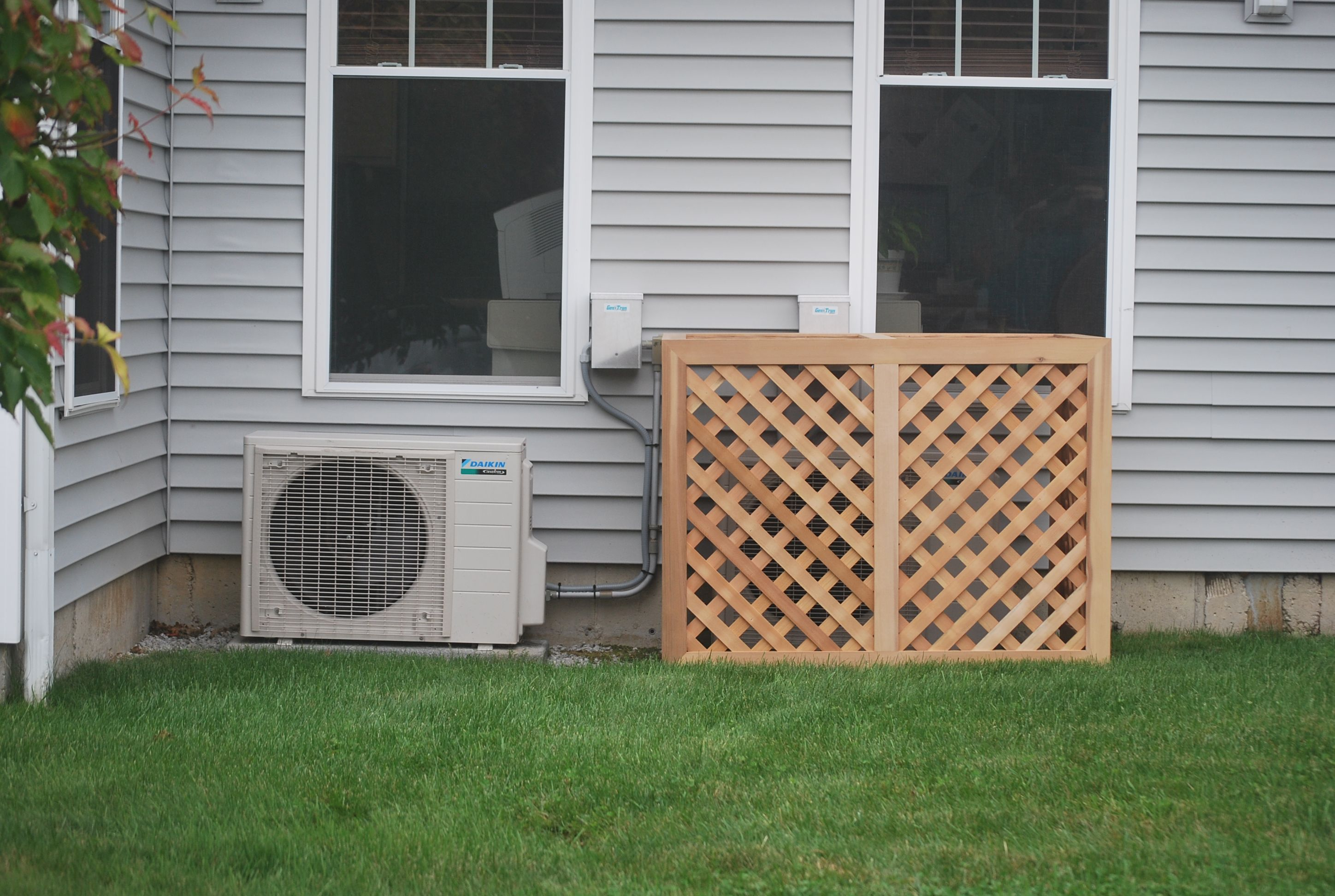 This is one of our Air Conditioner/Generator Enclosures