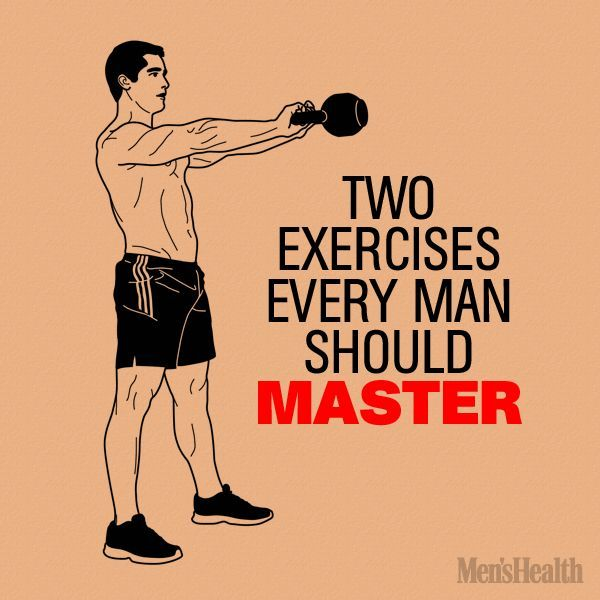 Kettlebell Workout For Men: Two Kettlebell Exercises Every Man Should Master