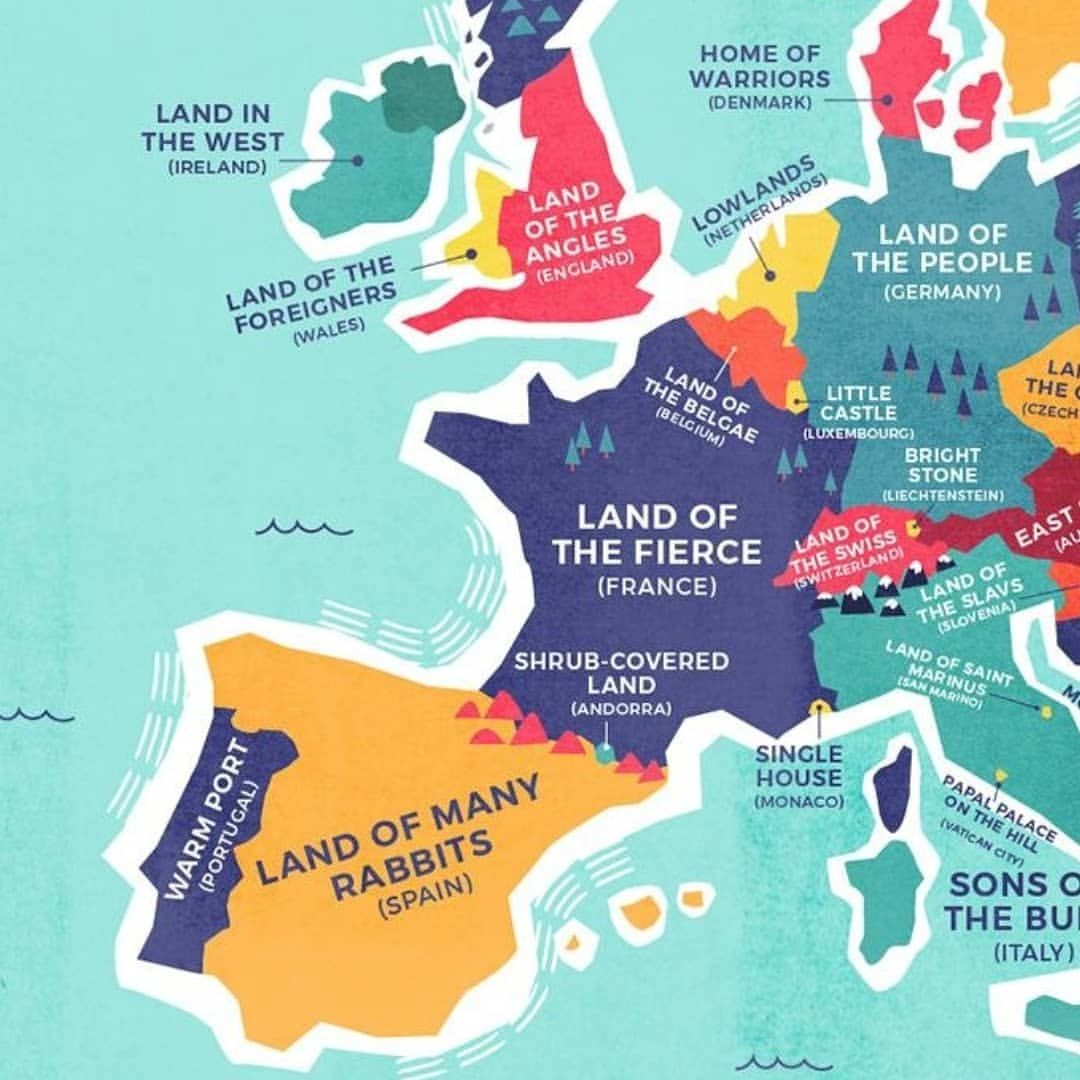 Map Of Europe And The Uk.Pin By Erik Schon On Genealogy Map Country Names European Map