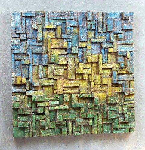 Dandelion Contemporary Artwork Toronto By Olga Oreshyna Scrap Wood Art Wood Art Design Wood Art