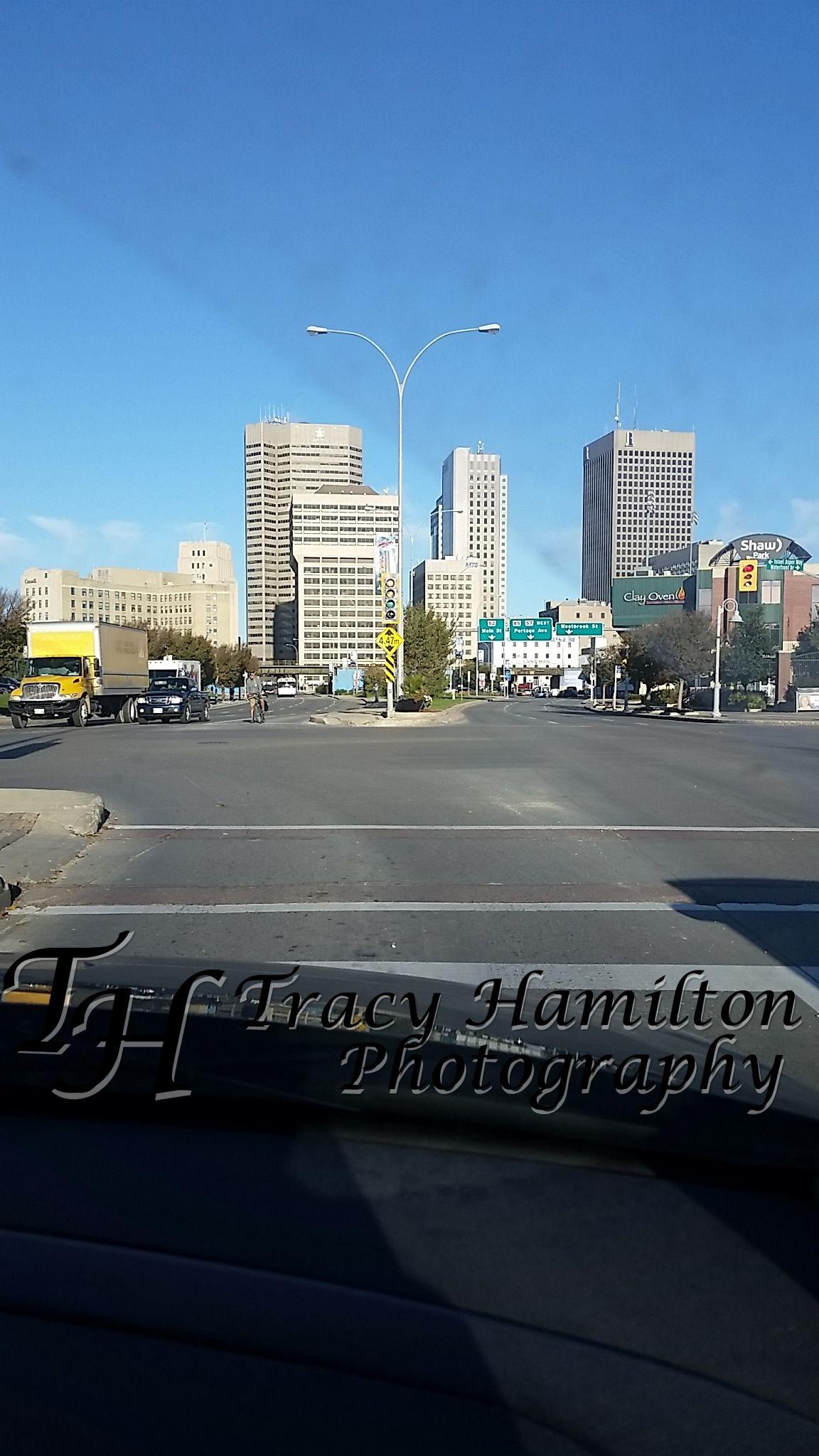 Downtown Winnipeg, MB Canada