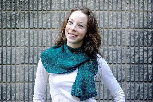 Ravelry: Augusta Shawl pattern by Danielle Chalson