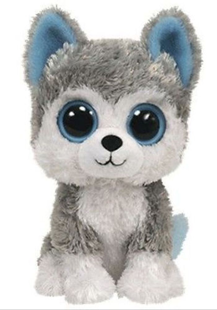 0d15b5b5edb Ty Beanie Boo s Slush Husky Dog Animal Stuffed Plush Toy (5