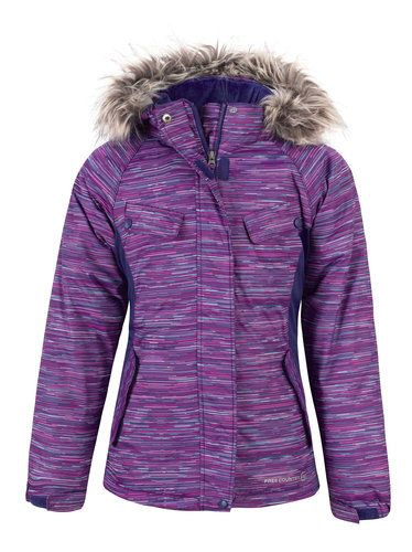 7a0ad6880 She'll take on the slopes in style in the Girls' Chroma Snowboard Jacket.