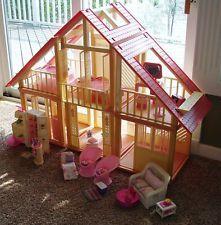 1970 S Vintage Barbie A Frame Dream House Furniture