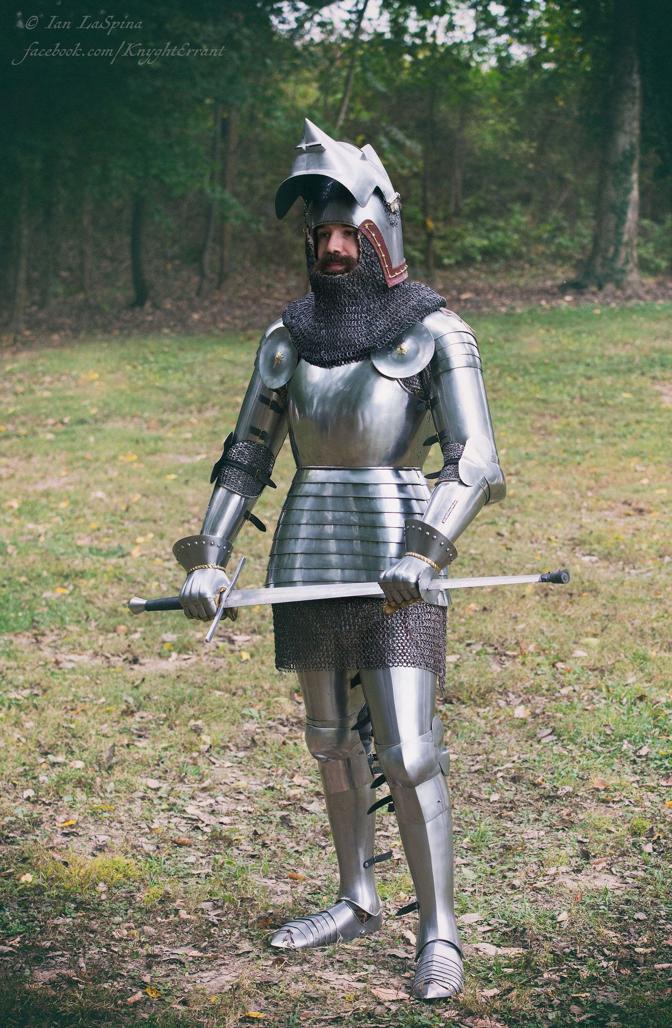 Early 15th century English man-at-arms | Reproduction Historical