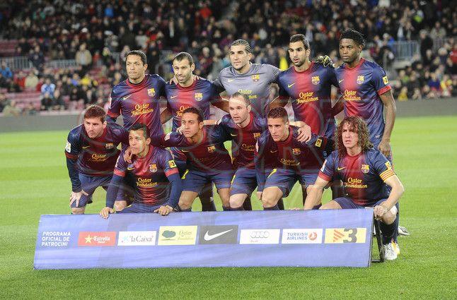 FC Barcelona, 2 - Málaga, 2.  Copa del Rey. [16.01.13]