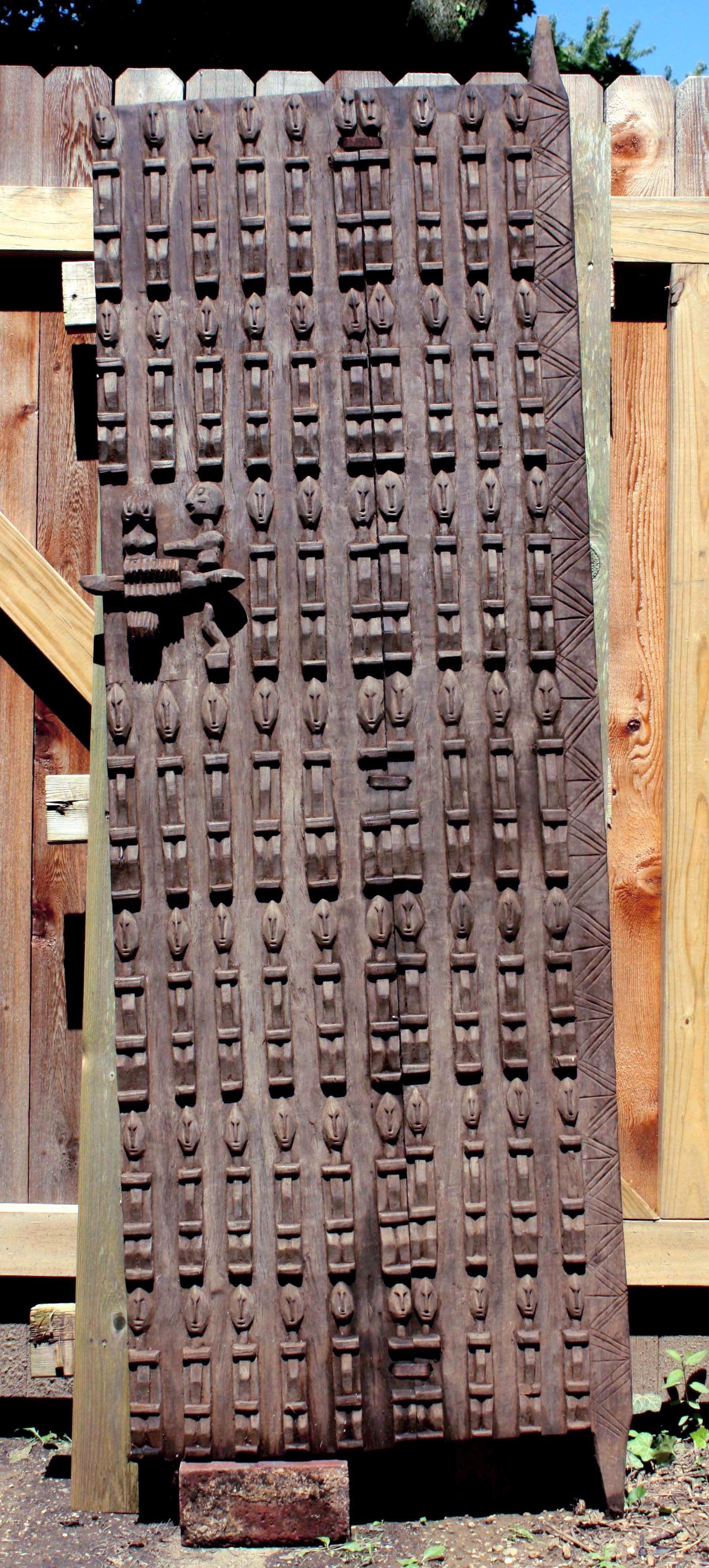 Dogon door from Mali & Dogon door from Mali | African Doors | Pinterest | Doors and ...