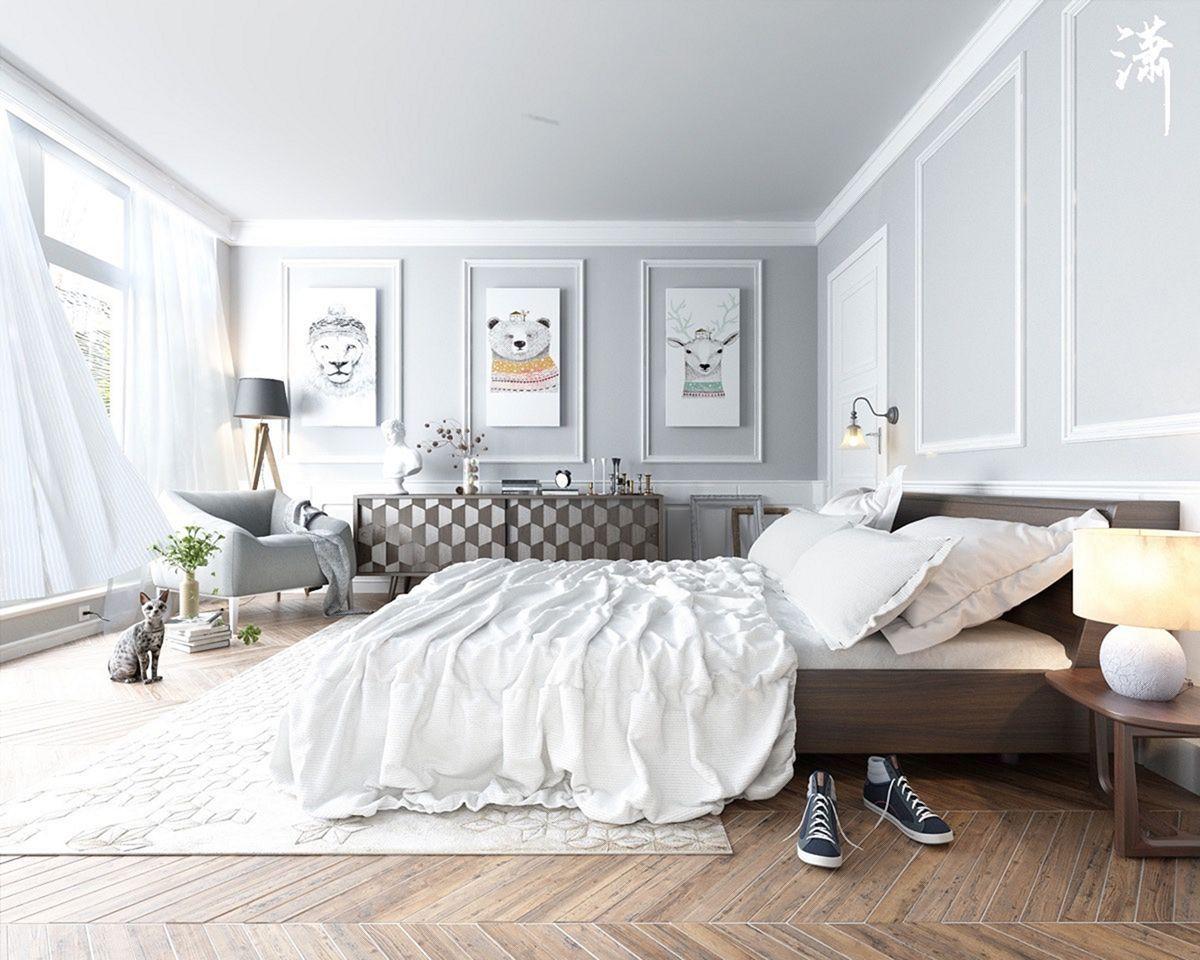Top 15+ Scandinavian Bedroom Design Ideas for