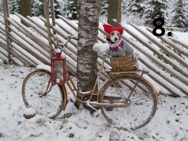 3 - Nordic Christmas photos via Red House in the Country Punainen ...