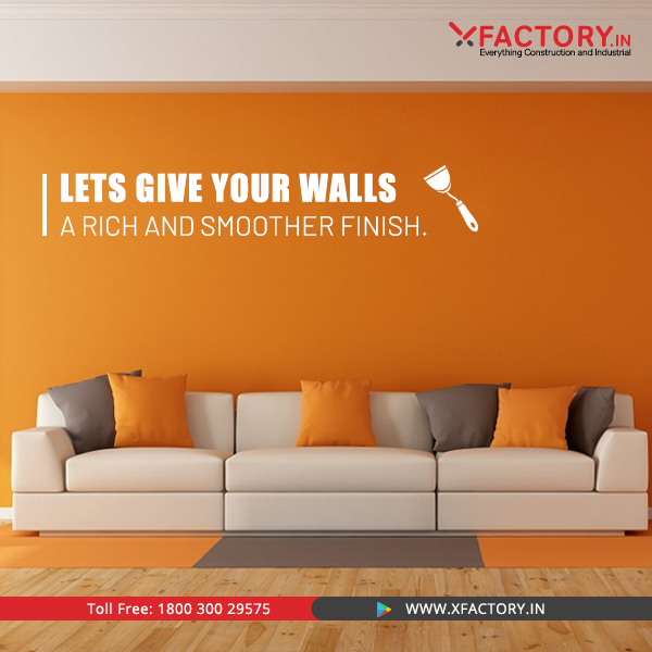 Why Compromise The Beauty Of Your Walls Buy The Best Quality Paint And Putty From Xfactory In Countless Brands Amazing Deal Wall Buying Paint Quality Paint