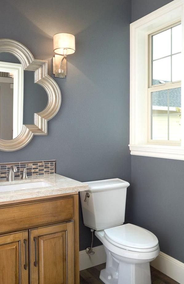 Storm Cloud In 2020 Bathroom Wall Colors Small Bathroom Paint Bathroom Paint Colors