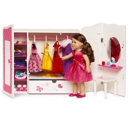 Admirable My Life As 18 Doll Furniture Armoire Walmart Com Kids Home Interior And Landscaping Ymoonbapapsignezvosmurscom