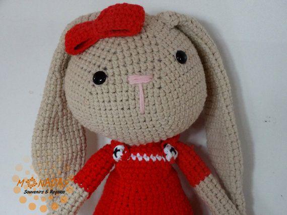 Amigurumis Conejos Paso A Paso : Un conejo bípedo amigurumi bueno dos mis nancys mis peques y yo