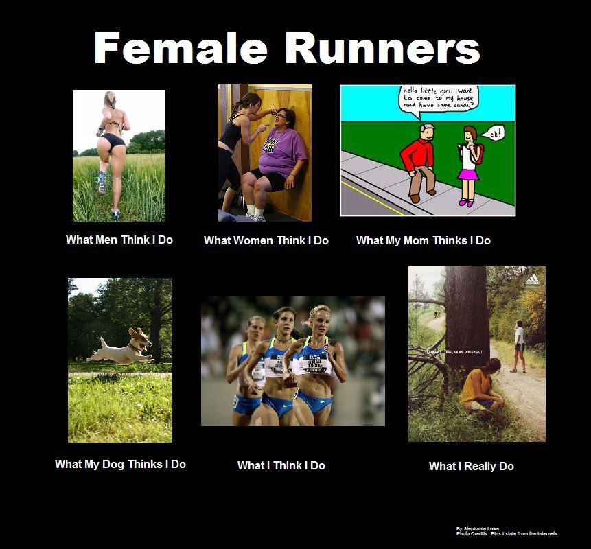 Female Runners...LOL!!! if you're a runner this is totally