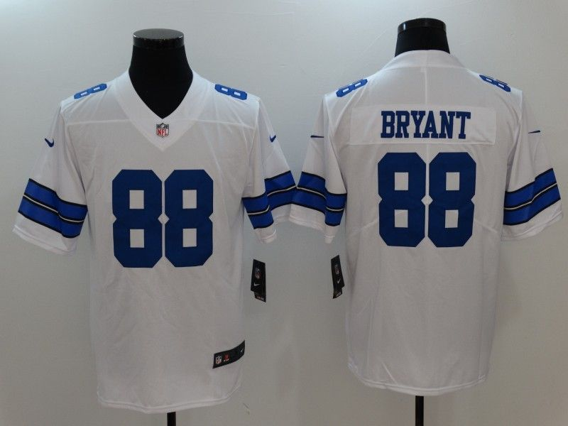 1bb54f4e Nike Cowboys 88 Dez Bryant White Vapor Untouchable Player Limited ...