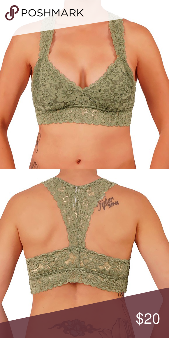 5b3c64fe0ab Mint green Racerback floral lace Bralette Item Details  Beautiful Floral Lace  Bralette. Features RacerBack