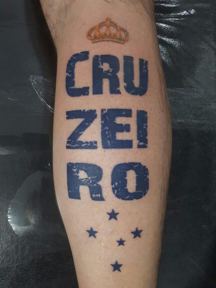 dbb74ae0dd Tattoo do Cruzeirão cabuloso. Lindíssima!