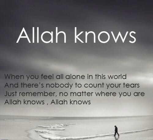 When You Feel All Alone Islamic Quotes Muslim Quotes Quran Quotes