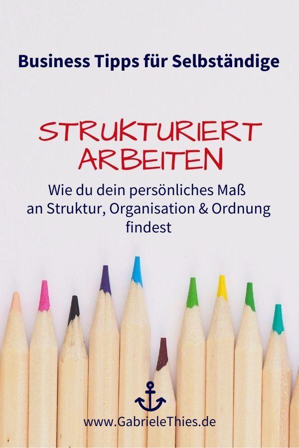 Was Bedeutet Strukturiert