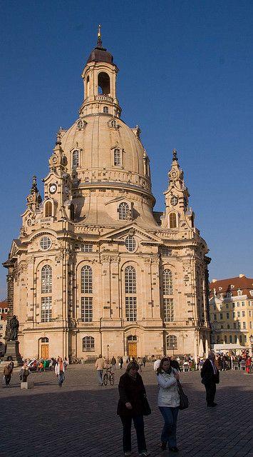 Frauenkirche In Dresden Dresden Germany Baroque Architecture
