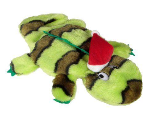 Kyjen Christmas Plush Puppies Invincibles Holiday Delay Gifts
