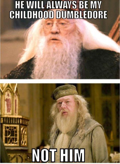 Dumbledore Richard Harris Vs Michael Gambon