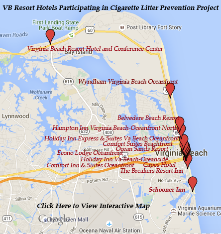 Getting S Off The Beach Map Of Virginia Paring Resort Hotels