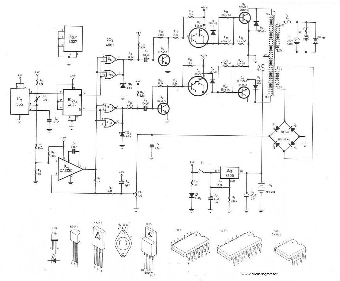 300watt Inverter Dc 24v To Ac 220v
